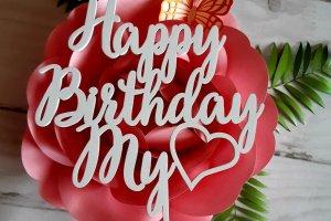Робота Топпер в торт на день народження