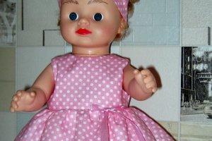 Одяг для ляльок - пупса Аліни (в рюкзаку). Ручна робота! - Опис