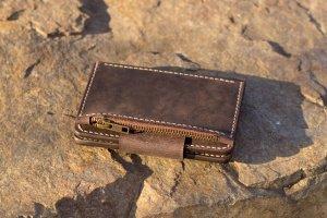 Робота Портмоне / Великий гаманець з кишенею на замку