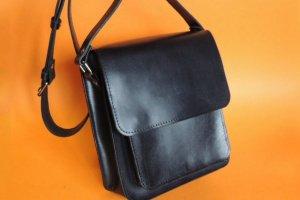 Робота мужская сумка коричневая