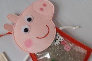 Іграшка іскалка Свинка Пеппа з фетру - Опис