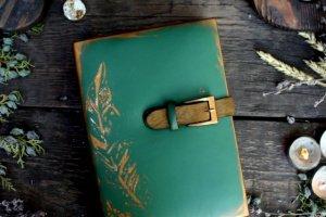 """Книжка для записей """"Листья"""" - Опис"""