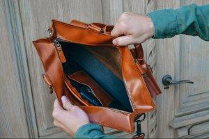 Коричнева чоловіча сумка з італійської шкіри - Опис