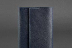 Робота Шкіряний блокнот (Софт-бук) 5.1 темно-синій