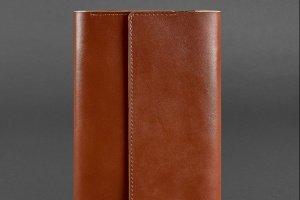 Шкіряний блокнот (Софт-бук) 5.1 світло-коричневий - ІНШІ РОБОТИ