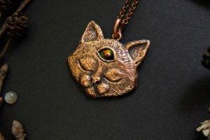 Робота Подвеска с трёхглазым котом
