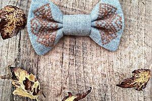 """Краватка-метелик з колекції """"Осінній туман"""" - Опис"""