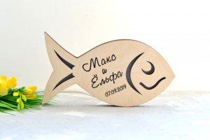 Светильник в форме рыбки - ІНШІ РОБОТИ