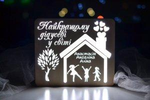 Робота Подарок дедушке от внучек
