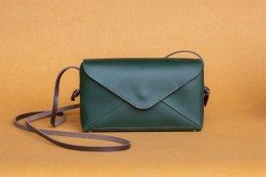 Шкіряна сумочка Chicago_emerald - ІНШІ РОБОТИ