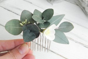 Нежный маленький гребень для волос с эвкалиптом и фрезией - ІНШІ РОБОТИ