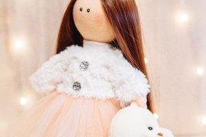 Робота Текстильна лялька Кетті