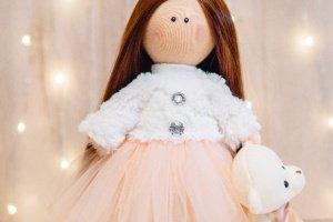 Текстильна лялька Кетті - Опис