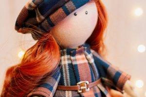 Робота Текстильна лялька Келлі