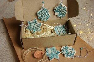 Керамічні ялинкові прикраси для декору #1 - ІНШІ РОБОТИ