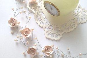Робота Свадебная веточка капучино