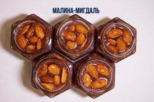 Малиново-мигдальний мед