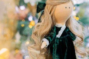 Робота Текстильна лялька Меррі