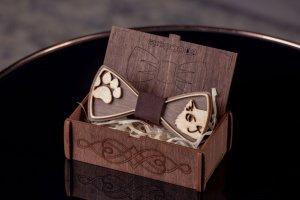 деревянный бабочка - Описание