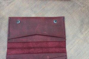 Шкіряний жіночий гаманець - ІНШІ РОБОТИ