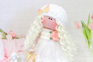 Лялька інтер'єрна Ангел - Опис