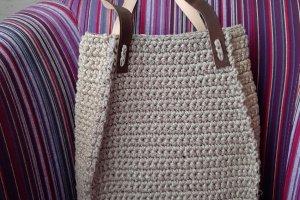 Робота Наталі - сумка-трапеція середнього розміру