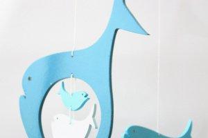 КИТИ дерев'яний мобіль у дитяче ліжечко - Опис