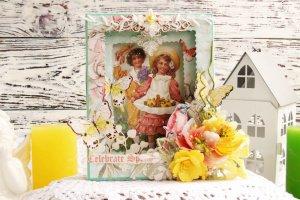 Робота Весняна листівка-тонель на 8 березня або Великдень