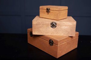 Дерев'яна подарункова упаковка,  для подарунків - ІНШІ РОБОТИ