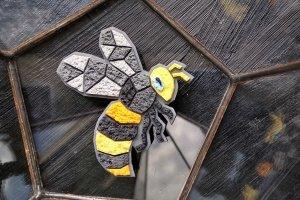Арт брошка Бджілка - ІНШІ РОБОТИ