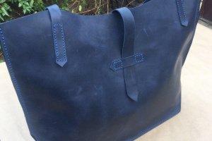 Шкіряна сумка жіноча - Опис