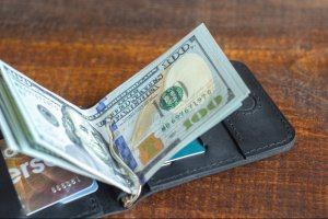 Затискач для грошей, чорний - ІНШІ РОБОТИ