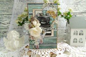 Вітальна листівка з квітами