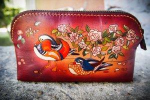 Шкіряна косметичка качки мандаринки - ІНШІ РОБОТИ