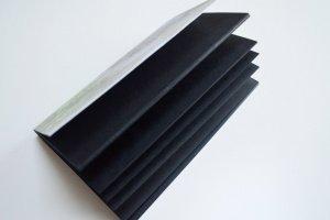 """Блокнот з чорними сторінками і білою ручкою """"Гілочка""""  - Опис"""