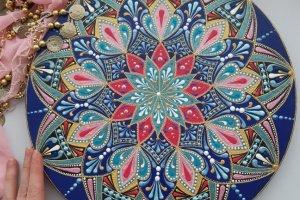 Робота тарілка декоративна Східні ночі