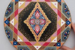 тарілка декоративна  Марокко - ІНШІ РОБОТИ
