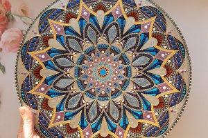 тарілка декоративна Гармонійна - ІНШІ РОБОТИ