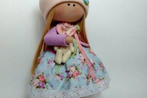 Робота лялька з зайчиком