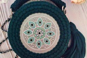 Сумка зеленого кольору - ІНШІ РОБОТИ