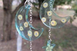 Блакитні сережки місяць і зірки - ІНШІ РОБОТИ