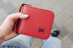 Жіночий червоний гаманець  - ІНШІ РОБОТИ