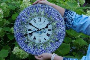 Робота великий годинник Прованс і лаванда