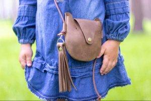 Дитяча сумочка зі шкіри - ІНШІ РОБОТИ