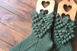 Шкарпетки Ніжки Ельфа шишечки - Опис