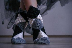 Шкарпетки Ніжки Ельфа шахові - ІНШІ РОБОТИ