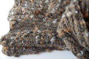 Робота Хакi шарф з альпаки
