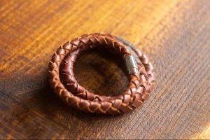 Шкіряні плетені браслети - ІНШІ РОБОТИ