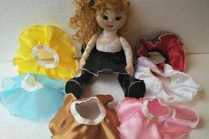 Набір ошатних спідничок для ляльки, Лялькова одяг - ІНШІ РОБОТИ