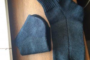 Чоловічі в'язані шкарпетки